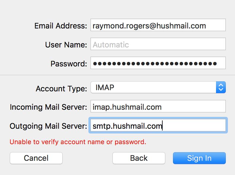 mail imap